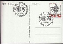 Croatia Zagreb 2012 / Philatelic Cooperation Croatia - Portugal - Philatélie & Monnaies