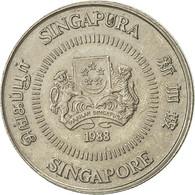 Singapour, 10 Cents, 1988, British Royal Mint, TTB, Copper-nickel, KM:51 - Singapore