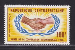 CENTRAFRICAINE AERIENS N°   29 ** MNH Neuf Sans Charnière, TB (D4044) Année De La Coopération Internationale - Central African Republic