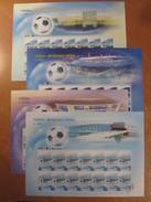 UKRAINE 2012 Mi 1225Bog-1228Bog Football. Soccer. EURO-2012. UEFA Cup / Fußball-Europameisterschaft **/MNH - Championnat D'Europe (UEFA)