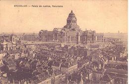 Bruxelles - Brussel - CPA - Palais De Justice, Panorama - Panoramische Zichten, Meerdere Zichten