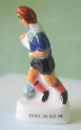 Fève Brillante  -  Footballeur - Droit Au But - 1998 - Sports