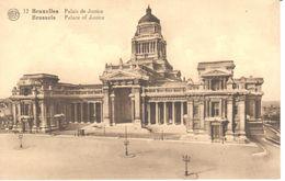 Bruxelles - Brussel - CPA - Palais De Justice - Panoramische Zichten, Meerdere Zichten