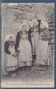 Costumes De La Savoie Saint Colomban Des Villards Oblitération Saint Michel De Maurienne 4.5.1905 N°111 - Costumes