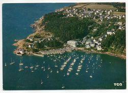 NEVEZ--1987--Vue Aérienne--Port Manech En Nevez--Le Port,la Pointe D'Ar Brechen --timbre-cachet Nevez......à Saisir - Névez