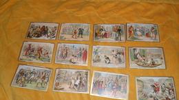 LOT DE 22 CHROMOS OU IMAGES ANCIENNES DATE ?. / CHEVERT A PRAGUES, FENELON, SAINTE GENEVIEVE ET ATTILA, EUSTACHE DE SAIN - Trade Cards