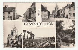 FRESNES-L'EGUILLON (Oise) - Multivues - Format CPA - Dentelée - - Other Municipalities