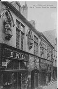 51 - REIMS - RUE DE TAMBOUR -MAISON DES MUCISIENS - DROGUERIE PILLA - Reims