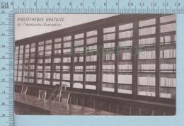 Montreal Quebec  Canada - Bibliotheque Gratuite De L'Immaculé-Conception -  Postcard Carte Postale - Montreal