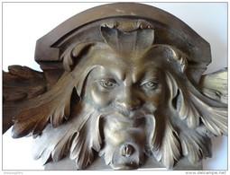 ANCIENNE APPLIQUE EN BRONZE - Lamps