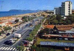 Riccione - Lungomare E Spiaggia - 64233 - Formato Grande Viaggiata – E 4 - Rimini