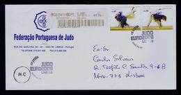 Lutte Judo EURO2008 Portuguese Federation Sports  2008 Set Fdc Sp5031 - Wrestling