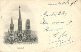 ROUEN (voyagée En 1898) - Cathédrale - Rouen