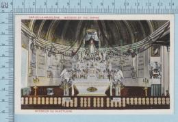 Cap De La Madelaine  Quebec Canada - Trois Rivieres Interior Of The Shrine  Used In 1936 -  Postcard Carte Postale - Trois-Rivières