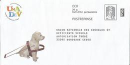 """UNADEV, Enveloppe Neuve, PostReponse 20g ECO Avec Point Sur Le """"i"""" De écopli, Validité Permanente - Entiers Postaux"""