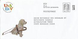 """UNADEV, Enveloppe Neuve, PostReponse 20g ECO Sans Point Sur Le """"i"""" De écopli, Validité Permanente - Entiers Postaux"""