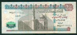 EGYPT / 100 POUNDS / DATE : 30-11-2015 / P- 72 B /  SIG : AMER / PREFIX 256 / UNC. - Egypte