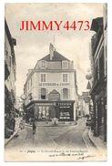 CPA - La Grande Rue Et La Rue Antoine Benoit, Bien Animée En 1905 - JOIGNY 89 Yonne - N° 16 - Scans Recto-Verso - Joigny
