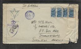 S.Africa, SAAF In Rome, Italy, 1/=, Unit Of 3d Bantams + Single;  APO 27, 12 SEP 44 > S.A. - South Africa (...-1961)