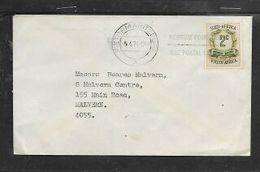 S.Africa, 2c REVENUE STAMP, Domestic Cover PIETERMARITZBURG 5.4.74 + USE POSTAL CODE > Malvern (BEARES Cachet) - South Africa (1961-...)