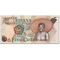 Ghana, 5 Cedis, 1977, 1977-07-04, KM:15b, NEUF - Ghana