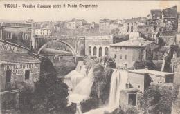 TIVOLI - VECCHTE CASCATE SOTTO IL PONTE GREGORIANO - Tivoli