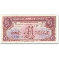 Grande-Bretagne, 1 Pound, 1956, KM:M29, Undated (1956), NEUF - Military Issues