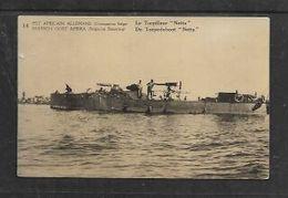 BELGIAN OCCUPATION OF GERMAN EAST AFRICA (Tanganyika), WWI, 10c, TORPEDOBOOT NETTA, C.t.o. - Colony: German East Africa