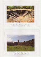 10 Nos. Sri Lanka HISTORICAL PLACES Unposted Postcards Collection - Sri Lanka (Ceilán)