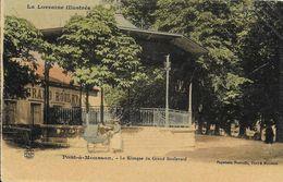 54)  PONT  à  MOUSSON  - Le Kiosque Du Grand Boulevard - Pont A Mousson