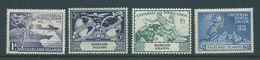 Falkland Islands 1949 UPU Set 4 MLH , Traces Of Gum Tone - Falkland Islands