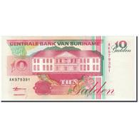 Surinam, 10 Gulden, 1998, 1998-02-10, KM:137b, NEUF - Surinam
