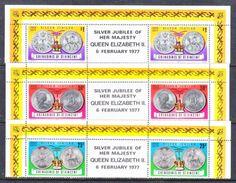 ST. VINCENT  GRENADINES  116-8    **    SILVER  JUBILEE  COINS - St.Vincent (...-1979)