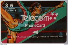 NEW ZEALAND - GPT - NZ-G-16 - Gymnastic - 4NZLB - $5 - Mint - New Zealand