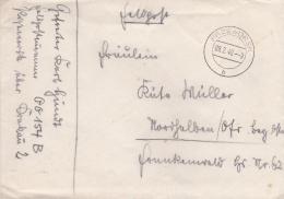 Feldpost WW2: From Przeworsk In SE Poland - Infanterie-Regiment 342 (9./III) FP 00154B P/m Przeworsk 9.2.1940 - Letter I - 2. Weltkrieg