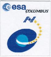 Human Space Flights STS-122 ESA Columbus Atlantis (29) USA Patch - Patches