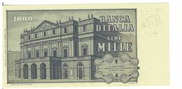 REPUBBLICA ITALIANA - 1000 LIRE GIUSEPPE VERDI -  FIOR DI STAMPA - DECR. 10/05/1979 - BAFFI STEVANI - ED766101C - [ 2] 1946-… : République