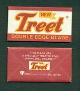 New Treet Double Edge Blade - Razor Blade In Wrapper - Made In Pakistan - Razor Blades