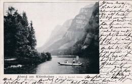 Abend Am Klönthalsee * 17. 8. 1901 - GL Glarus