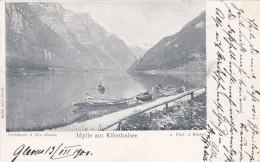 Idylle Am Klönthalsee * 13. 7. 1900 - GL Glarus
