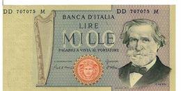 REPUBBLICA ITALIANA - 1000 LIRE GIUSEPPE VERDI -  FIOR DI STAMPA - DECR. 06/09/1980 - CIAMPI - STEVANI- DD707075M - [ 2] 1946-… : Républic