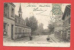 """C.P.A.  (92)  """" ASNIERES """"  Chapelle Saint-Charles //2 Pho. - Asnieres Sur Seine"""