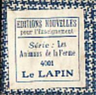 1 Film Fixe LA FERME LE LAPIN (ETAT TTB ) - 35mm -16mm - 9,5+8+S8mm Film Rolls