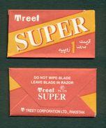 PAKISTAN - TREET SUPER Blade - Razor Blade + Wrapper - Made In Pakistan - Razor Blades