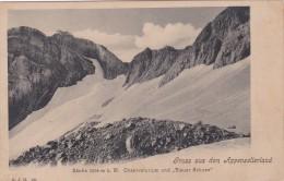 """Gruss Aus Dem Appenzellerland - Säntis - Observatorium Und """"Blauer Schnee"""" (121) - AI Appenzell Innerrhoden"""