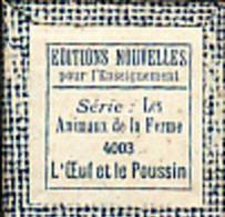 1 Film Fixe LA FERME L OEUF LE POUSSIN (ETAT TTB ) - Bobines De Films: 35mm - 16mm - 9,5+8+S8mm