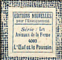 1 Film Fixe LA FERME L OEUF LE POUSSIN (ETAT TTB ) - 35mm -16mm - 9,5+8+S8mm Film Rolls