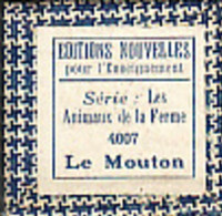 1 Film Fixe LA FERME LE MOUTON (ETAT TTB ) - Bobines De Films: 35mm - 16mm - 9,5+8+S8mm