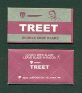 PAKISTAN - TREET DOUBLE EDGE BLADE - Razor Blade + Wrapper - Made In Pakistan - Razor Blades