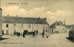 N°558 RRR LR IO LIGNE LES HOTELS - Ligné